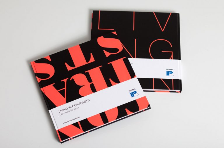 Interprint Living in contrast Buch Referenzen Start
