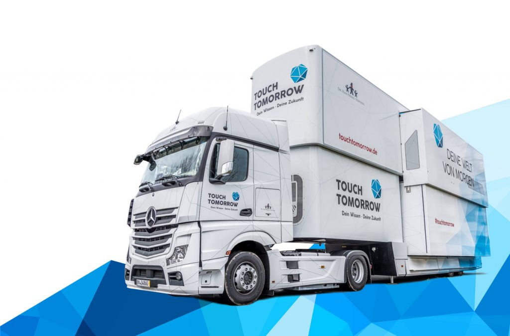 Touch tomorrow Truck Referenzen Start