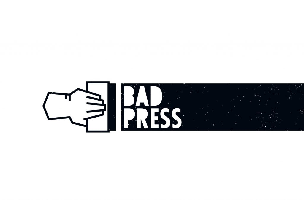 Bad Press Logo Branding Referenzen Start