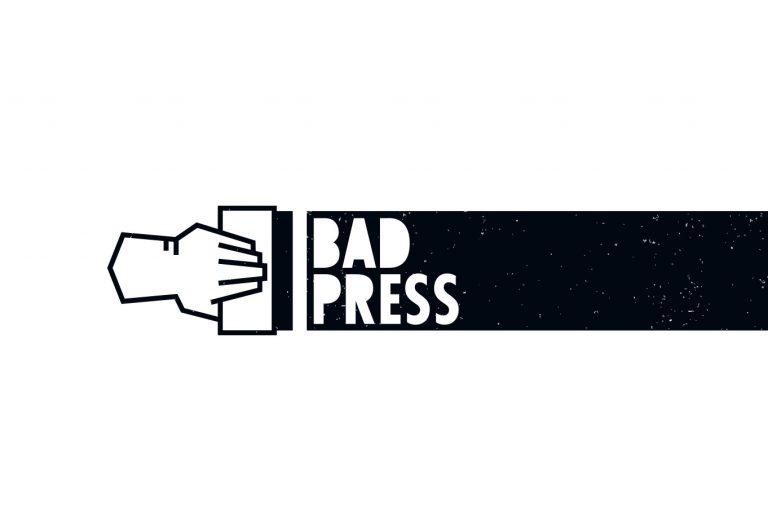 Bad Press Logo Branding Referenzen Start