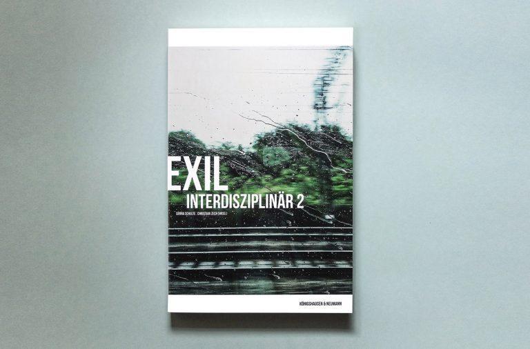 EXIL buch Cover Referenzen Start