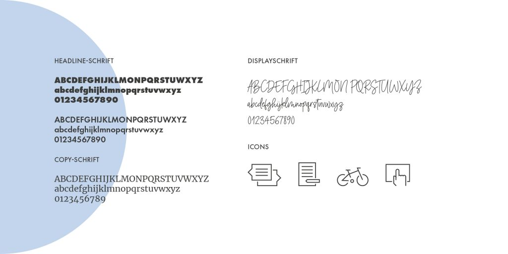 Typografie Corporate Design