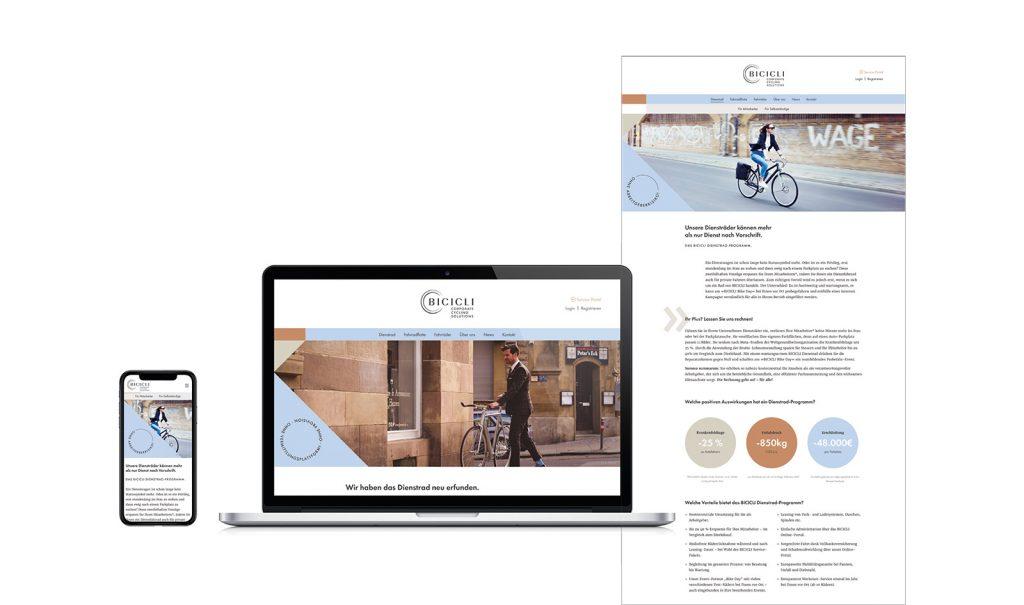 BICICLI Website