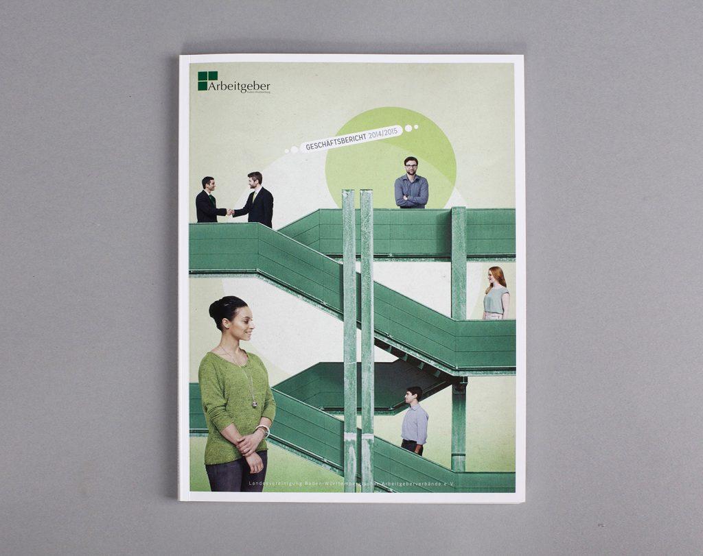 AGV Geschäftsbericht Collage Titel
