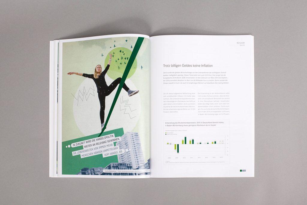 AGV Geschäftsbericht Collage