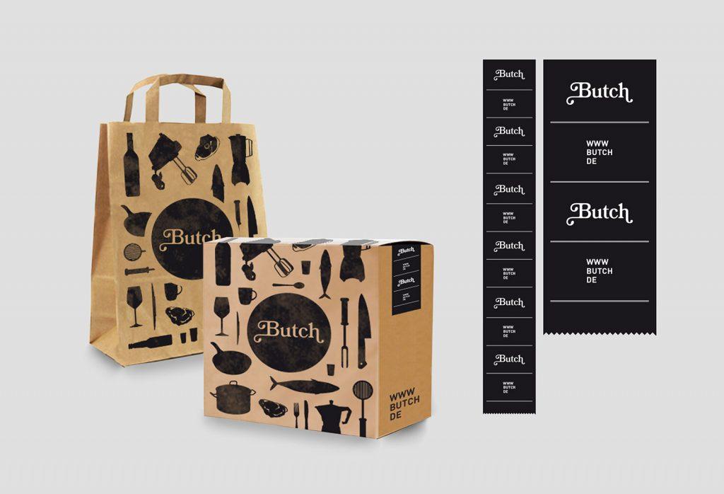 Butch Branding Packaging