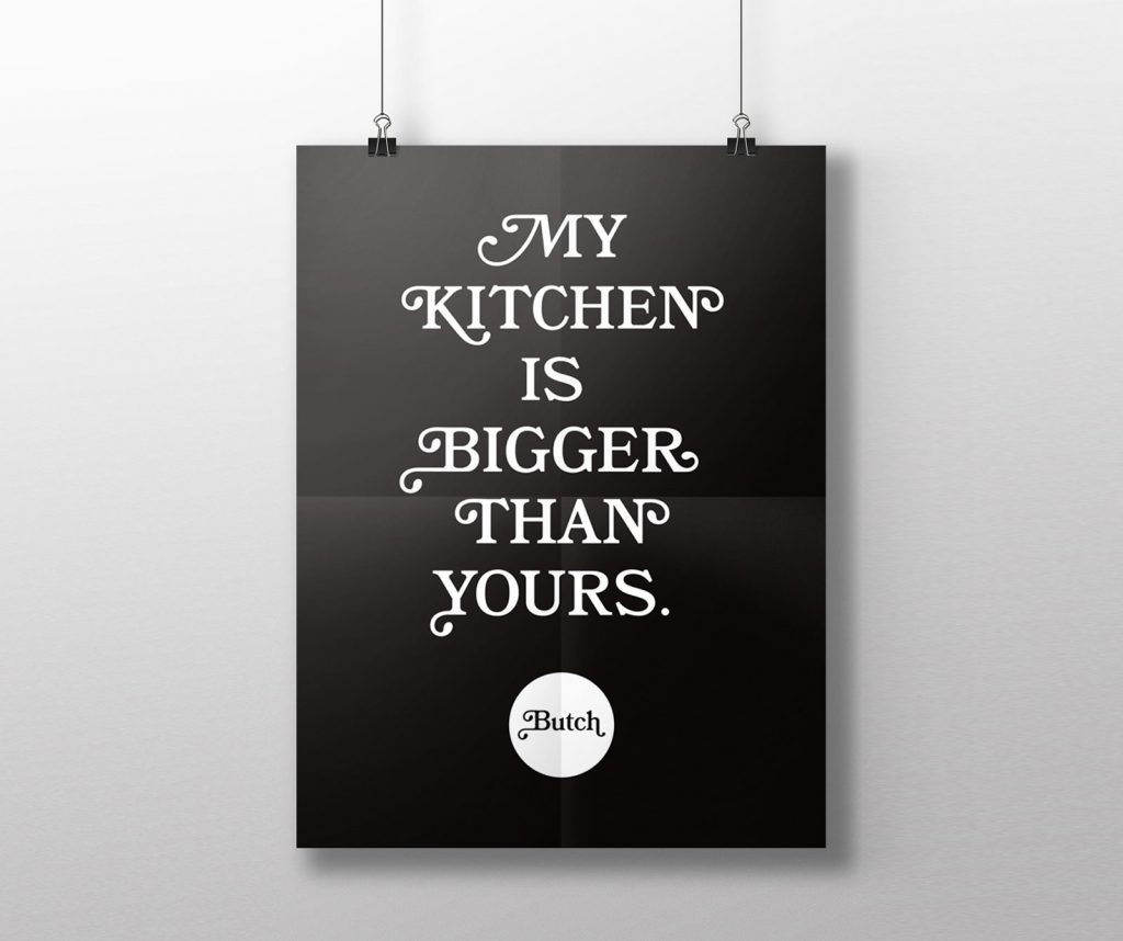 Butch Branding Poster Type