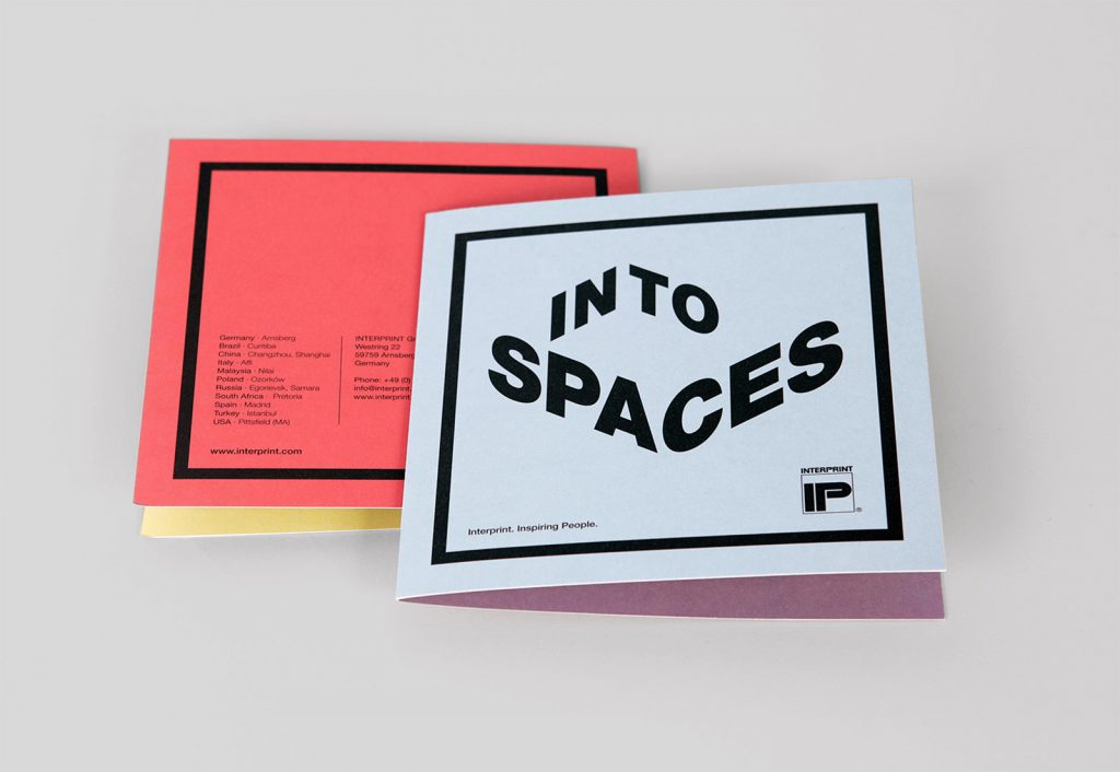Interprint Into Spaces Popup Karte