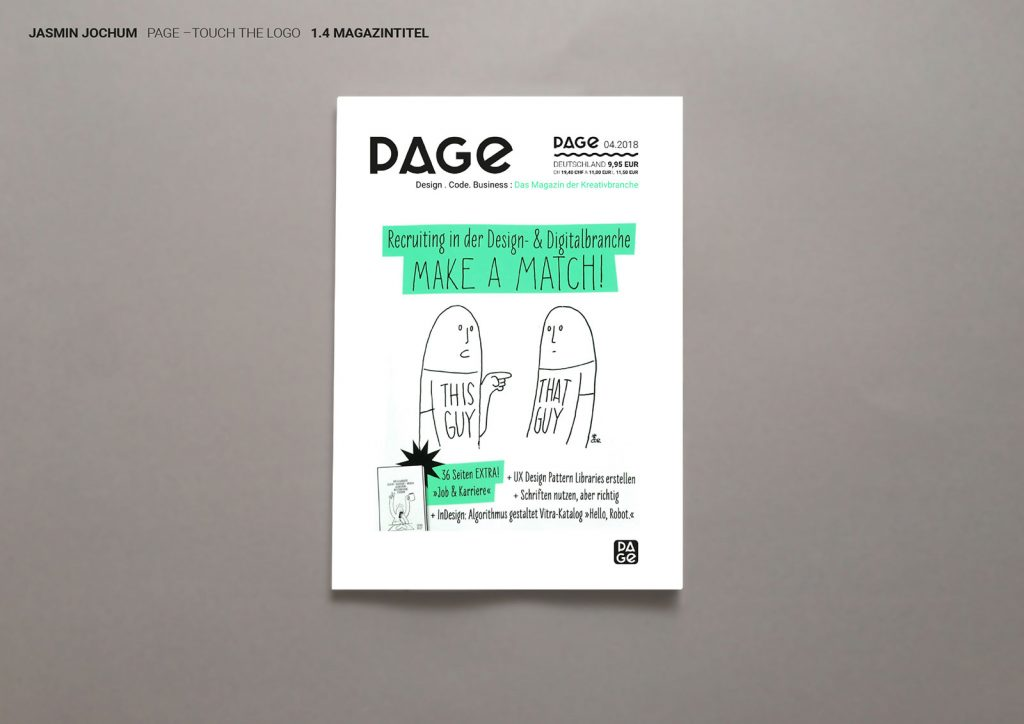 Page Magazin Logo s Cover