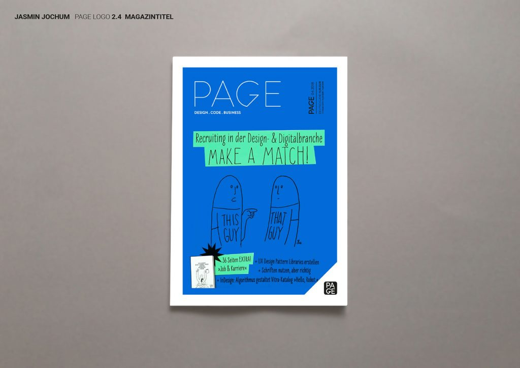 Page Magazin Logo Idee