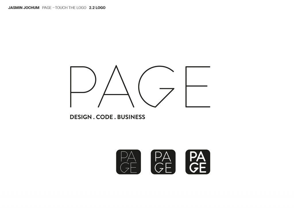 Page Magazin Logo 2 Monogramm