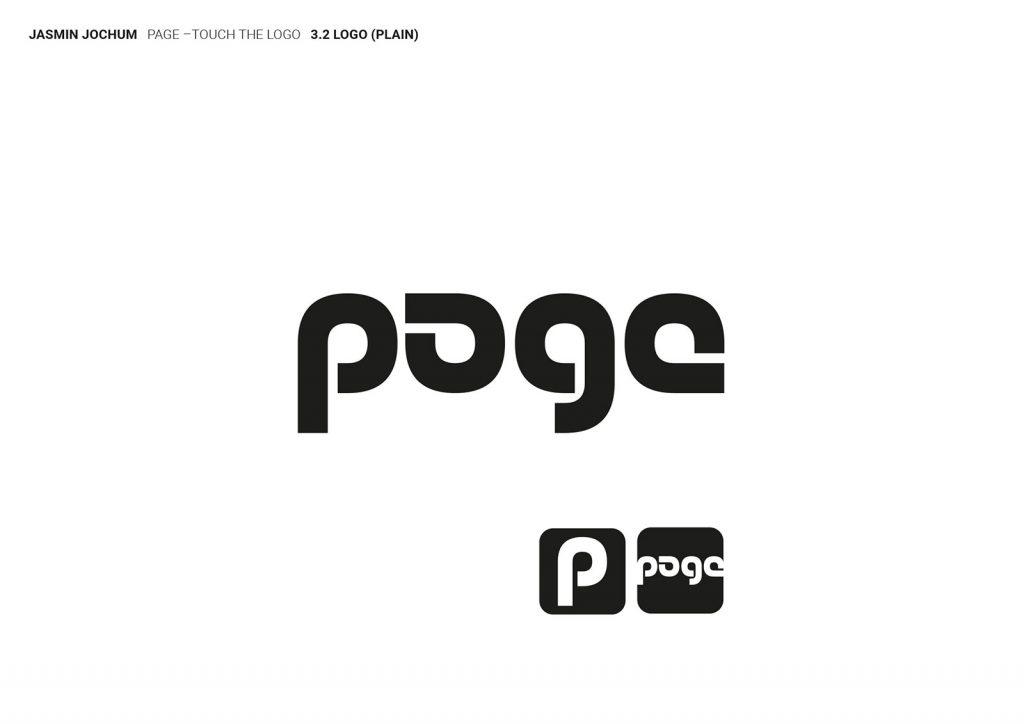 Page Magazin Logo 3 Monogramm