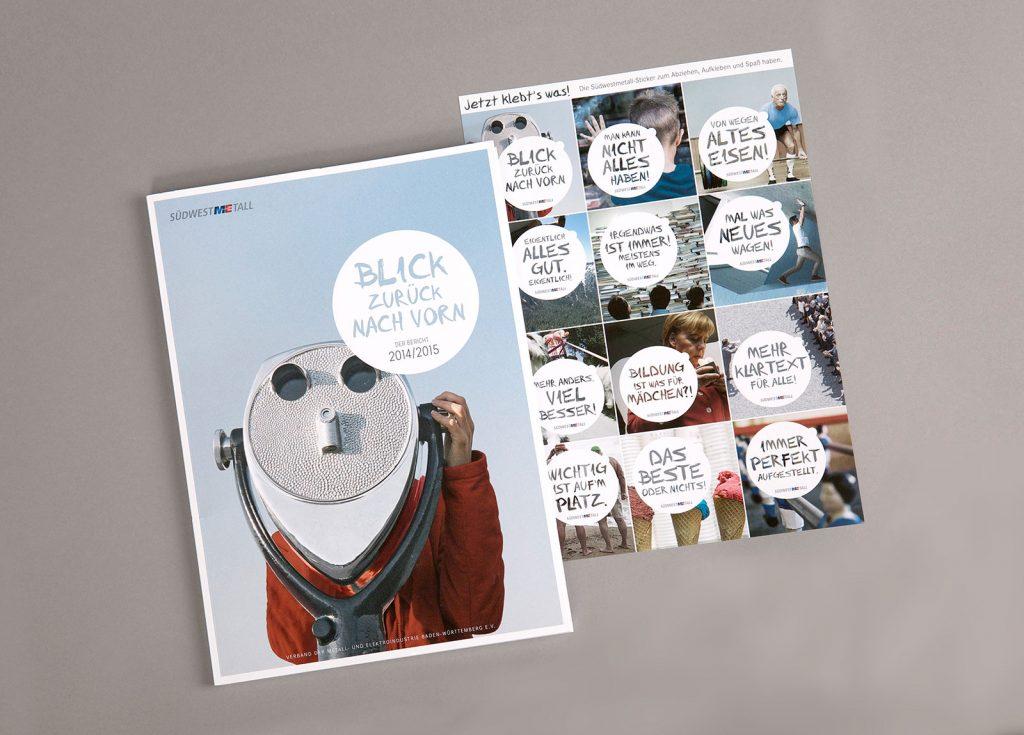 Südwestmetall Geschäftsbericht Cover