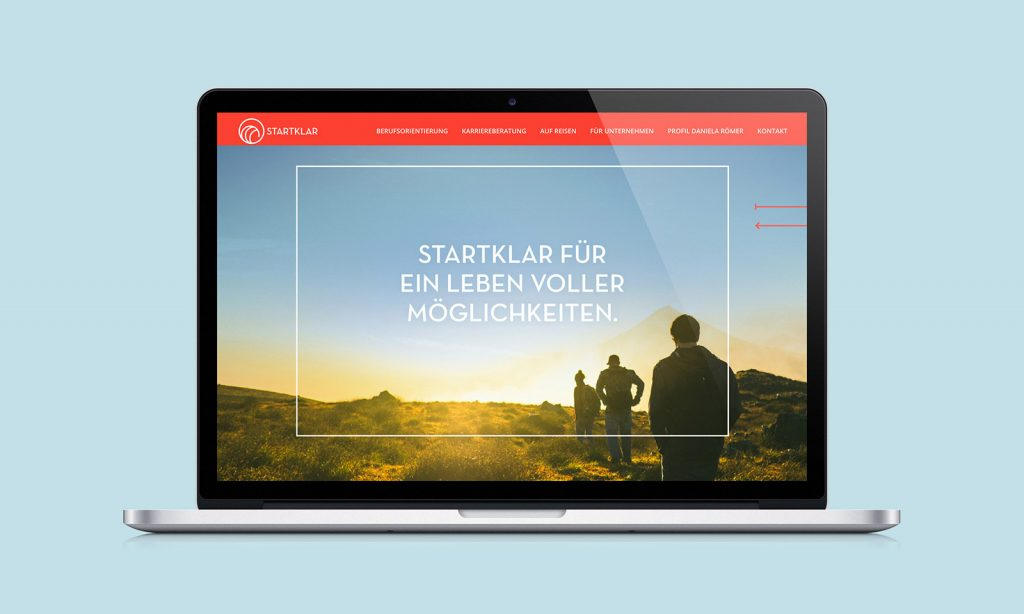Startklar Branding website