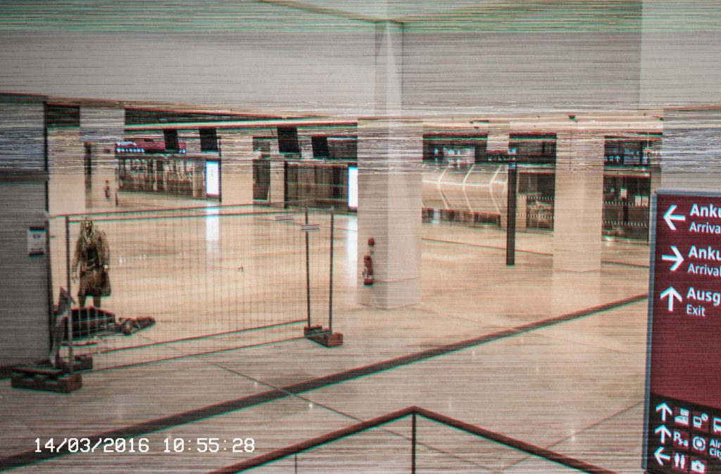 zombiegate Visual Composing Überwachungskamera