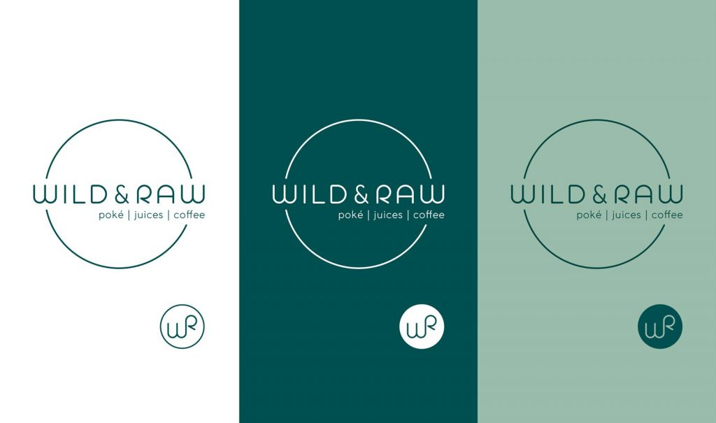 Wild & Raw Logo Monogram