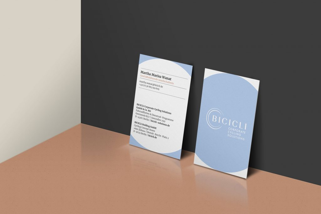 BICICLI Visitenkarte business card